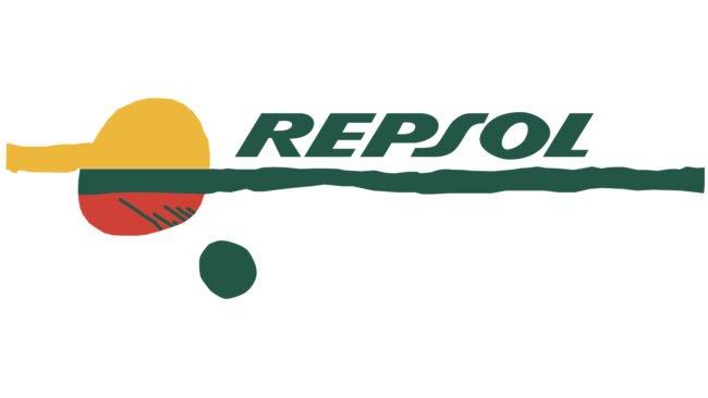 Repsol Logotipo 1987-1997