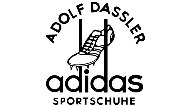 Adidas Logotipo 1949-1950
