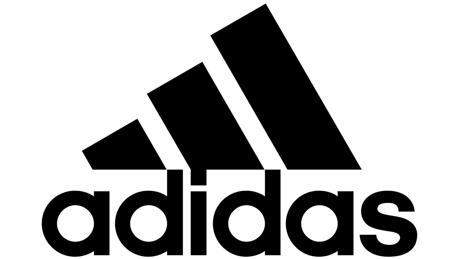 Redondear a la baja jaula erosión  Adidas Logo   LOGOS de MARCAS