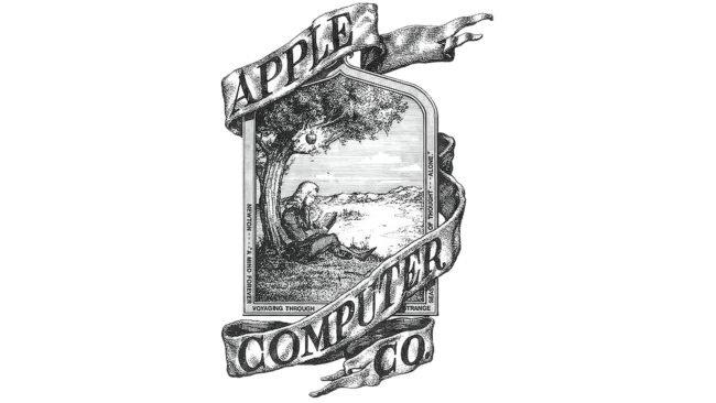 Apple Logotipo 1976-1977
