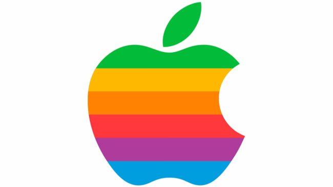 Apple Logotipo 1977-1998