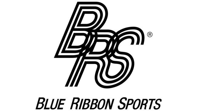 Blue Ribbon Sports Logotipo 1964-1971