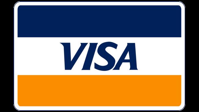 Visa Logotipo 1976–1992