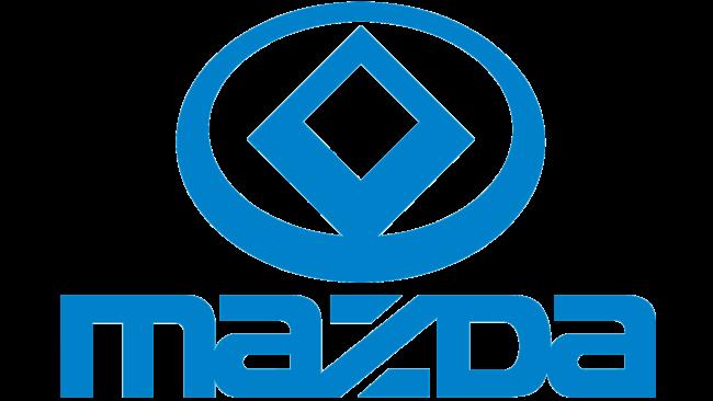 Mazda Logotipo 1991-1992