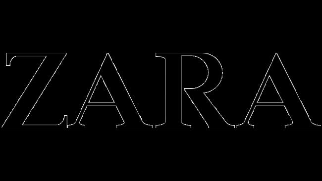Zara Logotipo 1975-2008