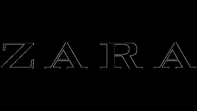 Zara Logotipo 2008-2019