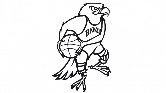 Atlanta Hawks Logotipo 1968-1969