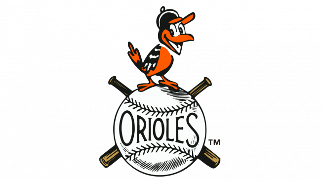 Baltimore Orioles Logotipo 1954-1965