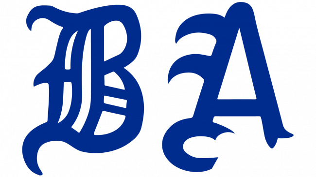 Boston Americans Logotipo 1901-1907