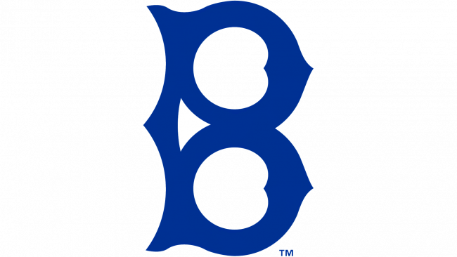 Brooklyn Dodgers Logotipo 1932-1936
