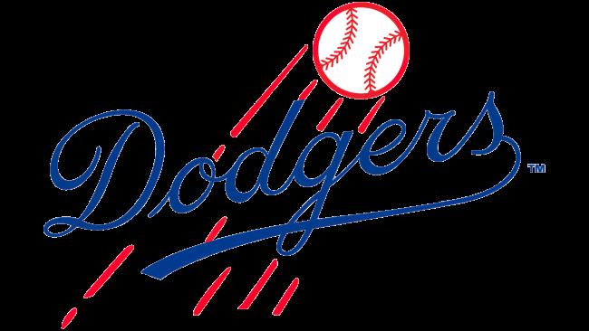 Brooklyn Dodgers Logotipo 1945-1957
