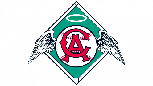 California Angels Logotipo 1965-1970