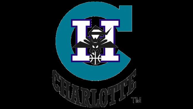Charlotte Hornets Logotipo 1988-1989