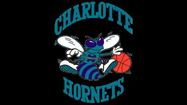 Charlotte Hornets Logotipo 1989-2002