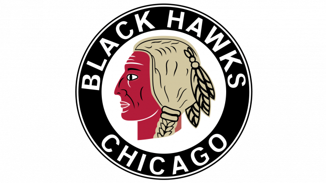 Chicago Blackhawks Logotipo 1937-1941
