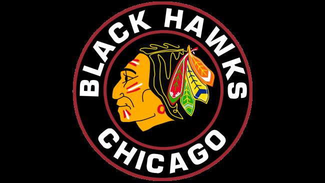 Chicago Blackhawks Logotipo 1957-1965