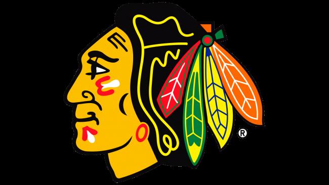 Chicago Blackhawks Logotipo 1989-1996