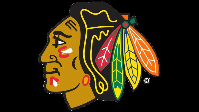 Chicago Blackhawks Logotipo 1996-1999