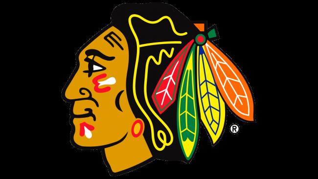 Chicago Blackhawks Logotipo 1999-Presente