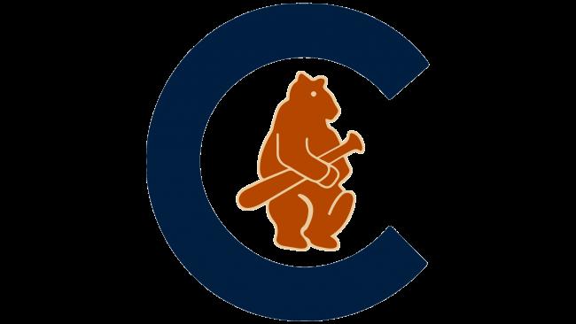 Chicago Cubs Logotipo 1908-1910