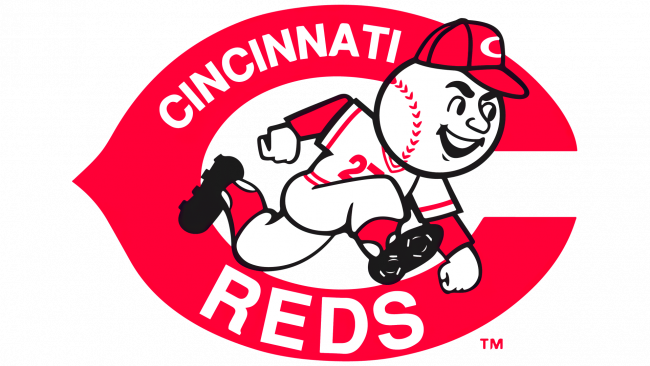 Cincinnati Reds Logotipo 1968-1992