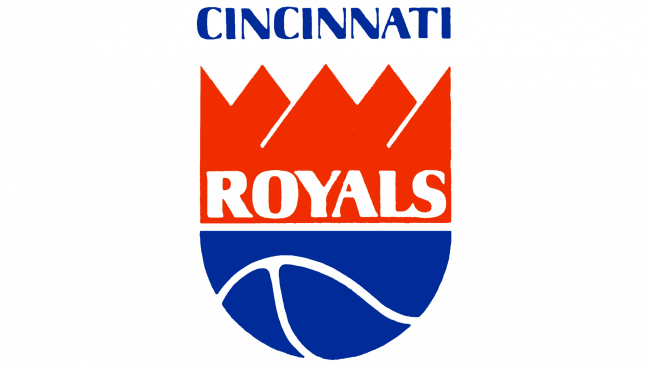 Cincinnati Royals Logotipo 1972
