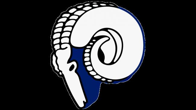 Cleveland Rams Logotipo 1944-1945