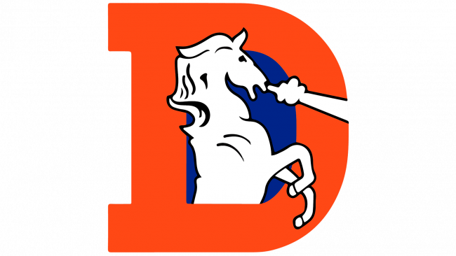 Denver Broncos Logotipo 1993-1996