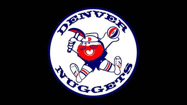 Denver Nuggets Logotipo 1974-1976