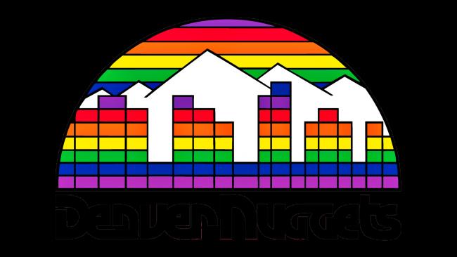 Denver Nuggets Logotipo 1982-1993