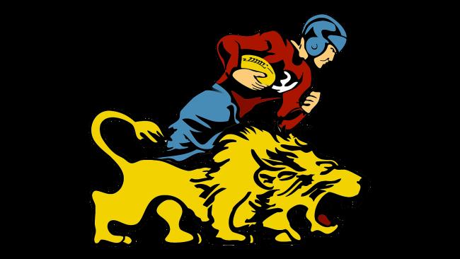 Detroit Lions Logotipo 1952-1960