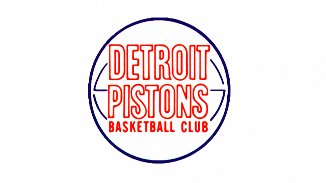 Detroit Pistons Logotipo 1971-1975