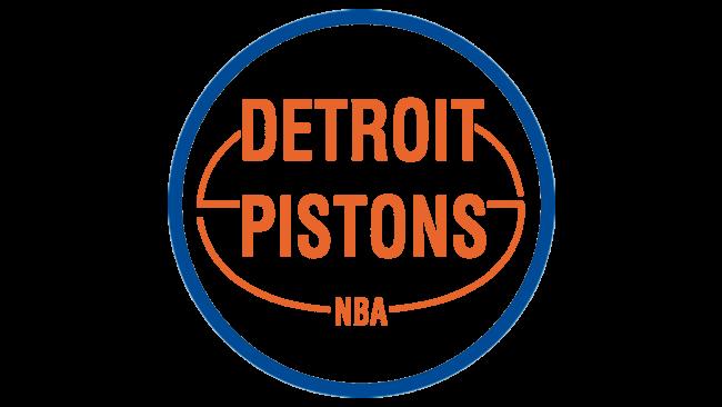 Detroit Pistons Logotipo 1975-1979