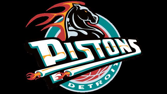 Detroit Pistons Logotipo 1996-2001