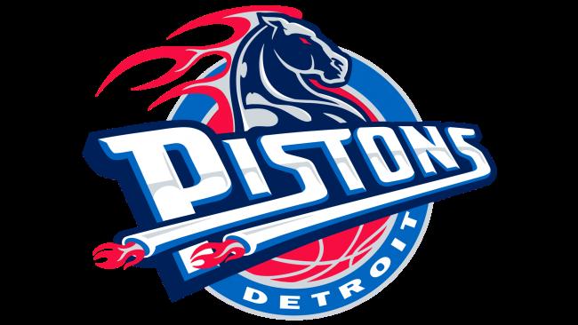 Detroit Pistons Logotipo 2001-2005