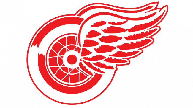 Detroit Red Wings Logotipo 1933-1948