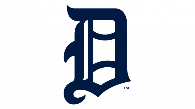 Detroit Tigers Logotipo 1905-1907