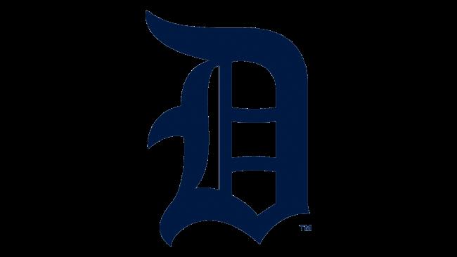 Detroit Tigers Logotipo 1917