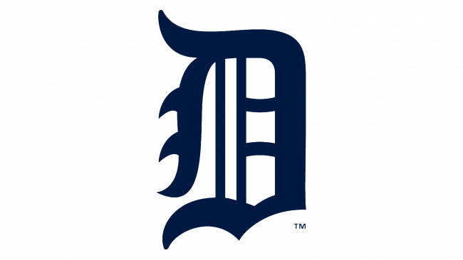 Detroit Tigers Logotipo 1921-1924