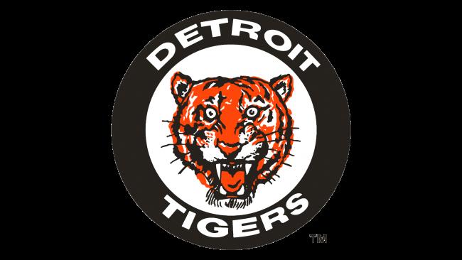 Detroit Tigers Logotipo 1961-1963