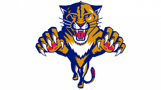 Florida Panthers Logotipo 1993-1999