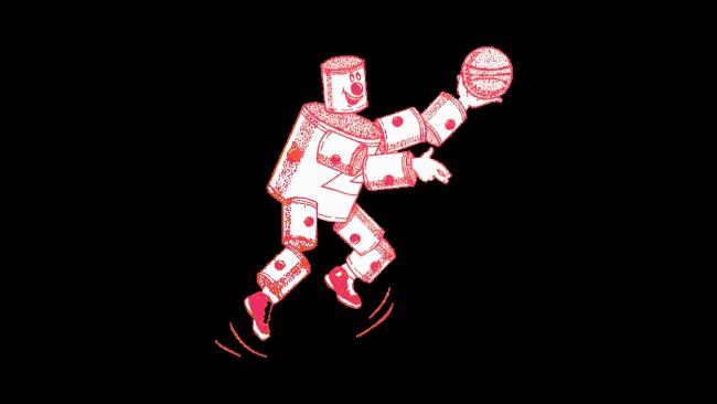Ft. Wayne Zollner Pistons Logo 1941-1947