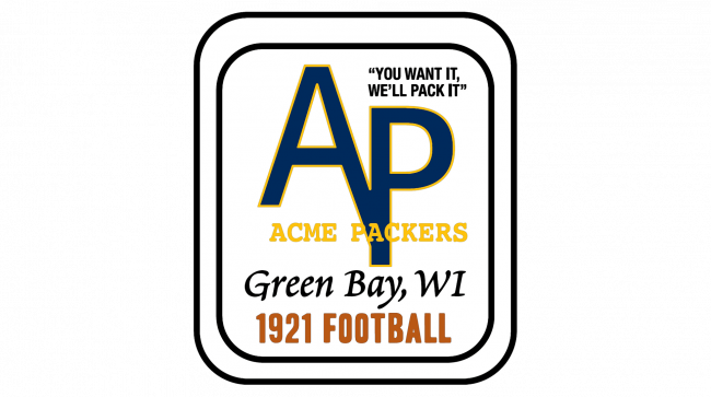 Green Bay Packers Logotipo 1921