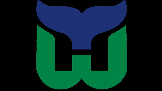 Hartford Whalers Logotipo 1980-1992