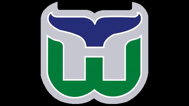 Hartford Whalers Logotipo 1993-1997