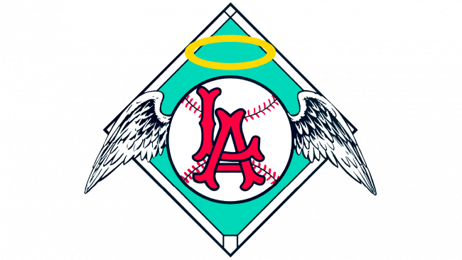 Los Angeles Angels Logotipo 1961-1964