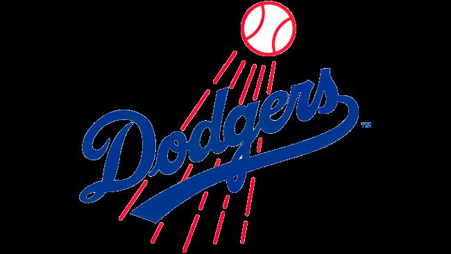 Los Angeles Dodgers Logotipo 1968-1971