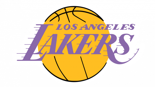Los Angeles Lakers Logotipo 1977-2001