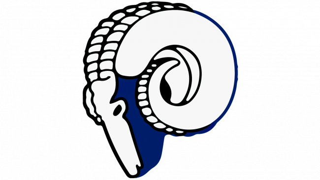 Los Angeles Rams Logotipo 1946-1950