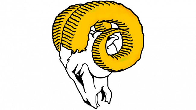 Los Angeles Rams Logotipo 1951-1969